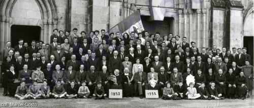 Fête des classes en 1952