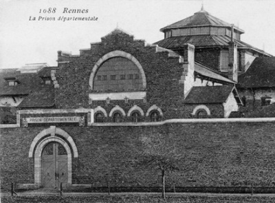 La prison de Rennes sous l'occupation